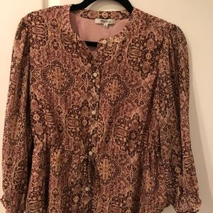 NWT! Madewell blouse, size XS